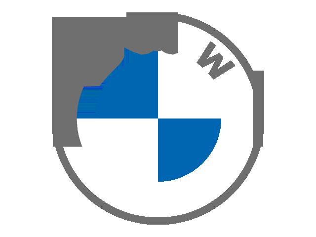 Current BMW Logo (blue & white & grey)