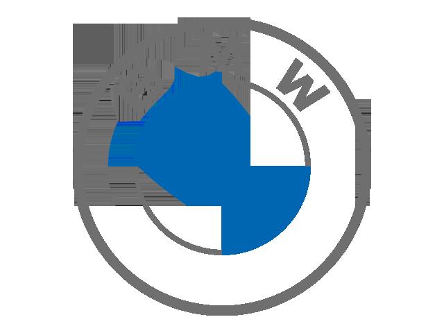 Current BMW Logo (Blue & grey)