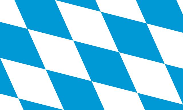 Flag of Bavaria (lozengy)