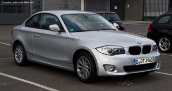 BMW 1 Series Coupe (E82 LCI facelift 2011)