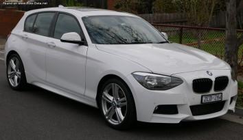 BMW 1 Series Hatchback 5dr (F20)