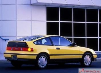 Honda CRX II (ED,EE)