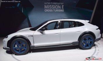 Porsche Mission E Cross Turismo  - Photo 3