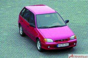 Subaru Justy II (JMA,MS) - Photo 2